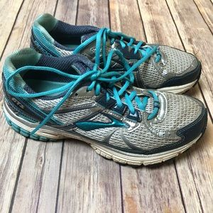 Brooks GTS 13 Sneakers Running Shoes Blue Grey